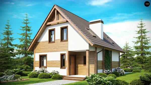 Фото 2 - Z45 - Предложение выгодного и практичного дома, подходящего для удлиненного или, наоборот, неглубокого участка.