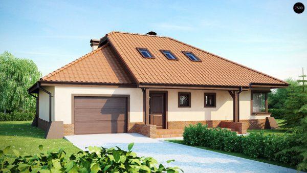 Фото 2 - Z56 - Просторный дом с гаражом, большим хозяйственным помещением и угловой террасой.