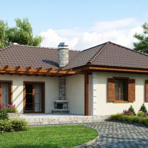 Фото 27 - Z6 - Добротный практичный одноэтажный дом с возможностью обустройства мансарды.