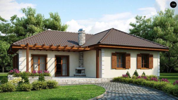 Фото 1 - Z6 - Добротный практичный одноэтажный дом с возможностью обустройства мансарды.