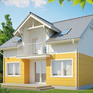 Фото 27 - Z65 - Стильный дом с мансардным окном и балконом, а также кухней со стороны сада.