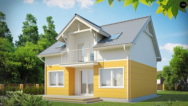 Фото 1 - Z65 - Стильный дом с мансардным окном и балконом, а также кухней со стороны сада.
