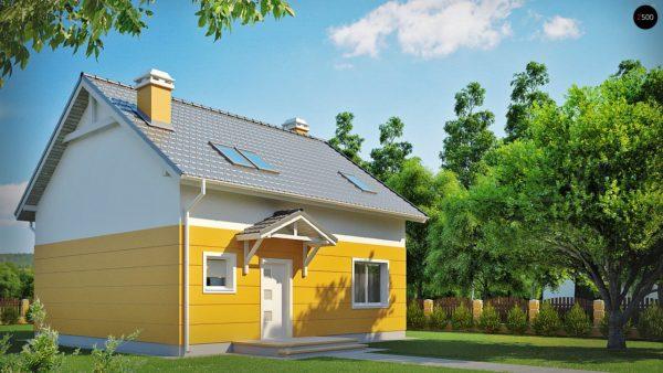 Фото 2 - Z65 - Стильный дом с мансардным окном и балконом, а также кухней со стороны сада.