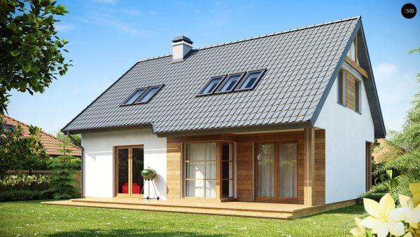 Фото 1 - Z66 - Проект комфортного и выгодного дома.