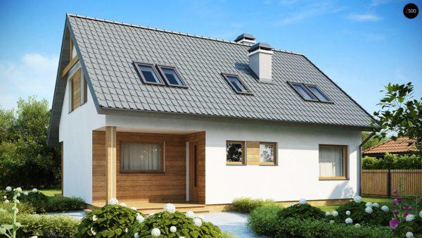 Фото 2 - Z66 - Проект комфортного и выгодного дома.