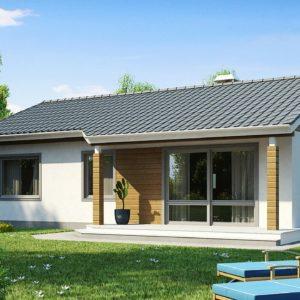 Фото 18 - Z7 - Компактный дом с двускатной крышей — выгодный, функциональный и практичный.