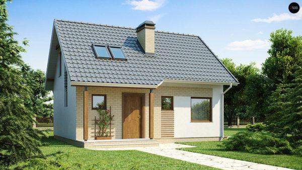 Фото 1 - Z71 - Практичный функциональный дом, недорогой в строительстве и эксплуатации.