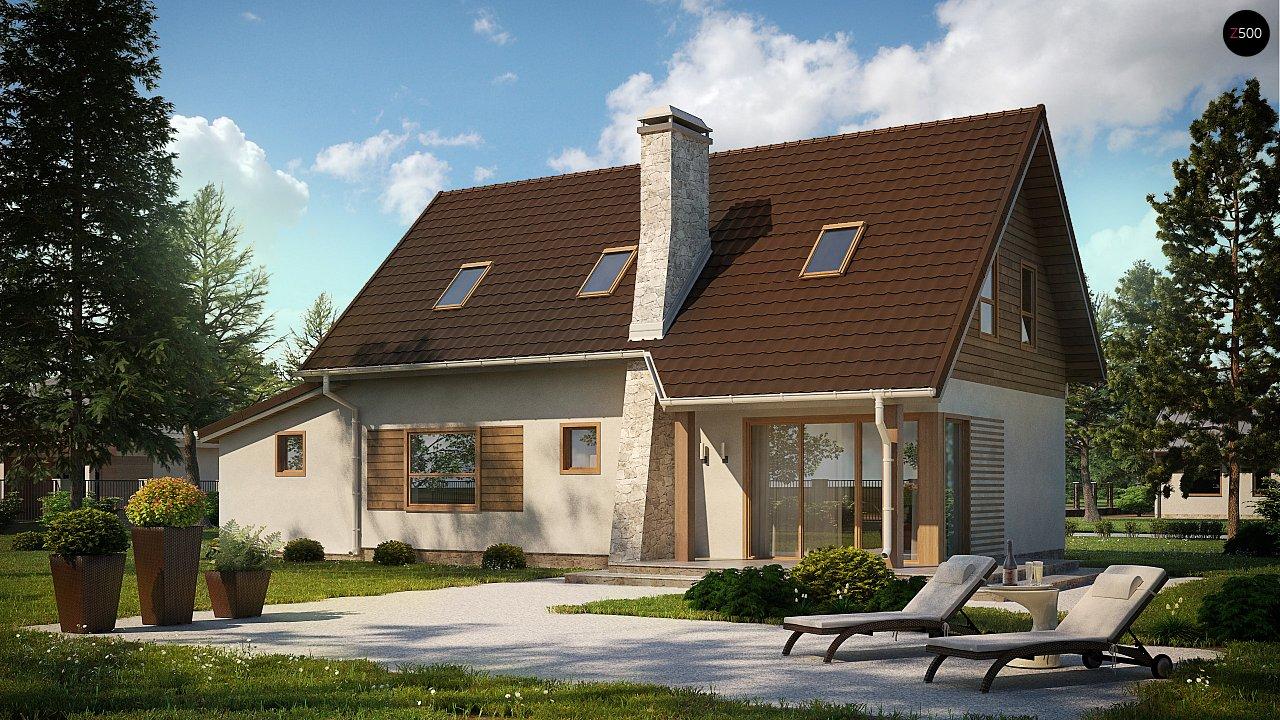 проекты домов из газосиликата с гаражом