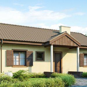 Фото 15 - Z8 - Выгодный и простой в строительстве дом полезной площадью 100 м2.
