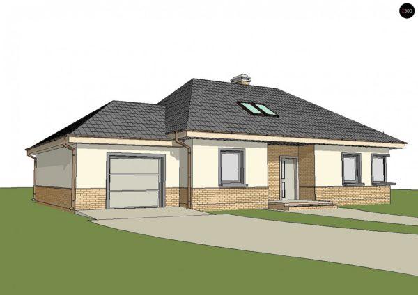 Фото 2 - Z84 GL - Современный дом с гаражом.