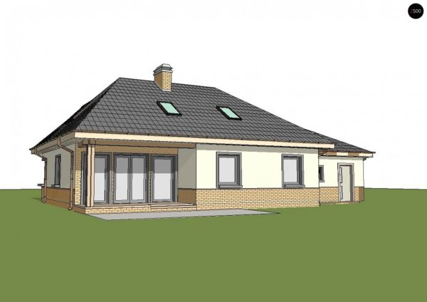 Фото 3 - Z84 GL - Современный дом с гаражом.