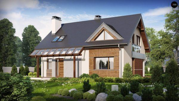 Фото 2 - Z89 - Традиционный дом с современными элементами архитектуры.