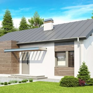 Фото 26 - Z93 - Функциональный одноэтажный дом с современными элементами отделки фасадов.