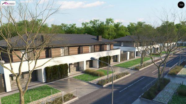 Фото 1 - Zb23 - Двухэтажный комфортный дом для двух семей.