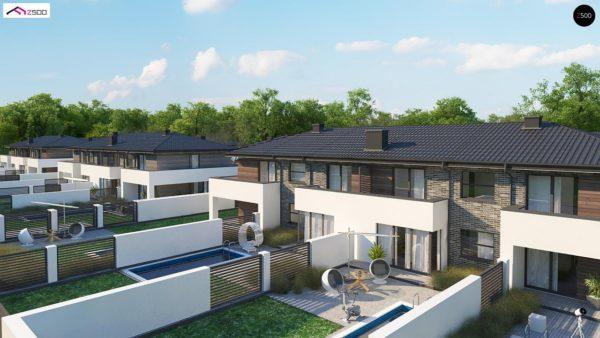 Фото 3 - Zb23 - Двухэтажный комфортный дом для двух семей.