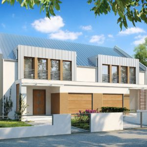 Фото 3 - Zb5 - Дома близнецы стильного современного дизайна.