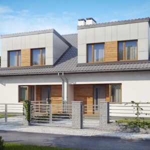 Проекты домов с жилой мансардой