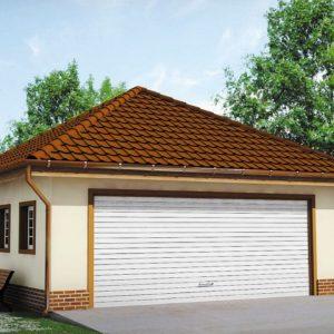 Фото 24 - Zg15 - Современный проект просторного гаража  для двух авто.