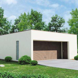 Фото 23 - Zg16 - Проект гаража в стиле хай-тек для двух машин.