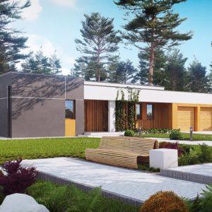 Фото 11 - Zx102 - Комфортный одноэтажный дом в современном стиле с гаражом для двух авто.