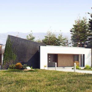 Фото 19 - Zx106 - Функциональный одноэтажный дом исключительного современного дизайна.