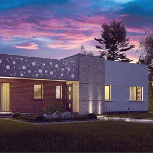 Фото 24 - Zx115 - Функциональный одноэтажный дом в современном стиле с плоской кровлей.