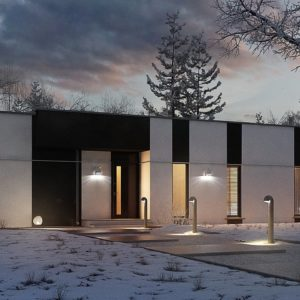 Фото 25 - Zx116 - Одноэтажный комфортный дом в стиле хай-тек.