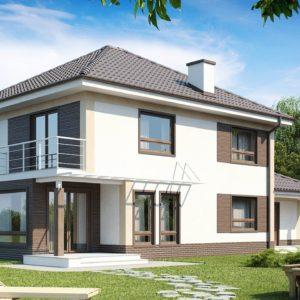 Фото 4 - Zx12 - Комфортабельный двухэтажный дом традиционной формы с гаражом.
