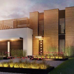 Фото 29 - Zx120 - Стильный двухсемейный дом современного дизайна.