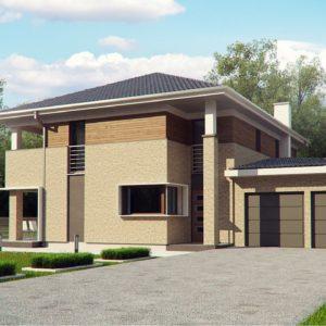 Фото 4 - Zx122 - Комфортная двухэтажная усадьба с гаражом на 2 авто, с сауной на 1 этаже.