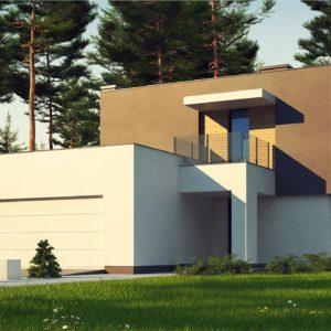 Фото 7 - Zx134 - Двухэтажный дом с гаражом на две машины.