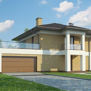 Фото 8 - Zx136 - Двухэтажный дом с гаражом на две машины.