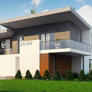 Фото 8 - Zx182 - Просторный современный дом с плоской кровлей.