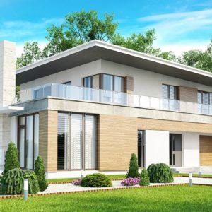 Фото 14 - Zx21 - Просторный современный дом утонченного дизайна с богатым интерьером.