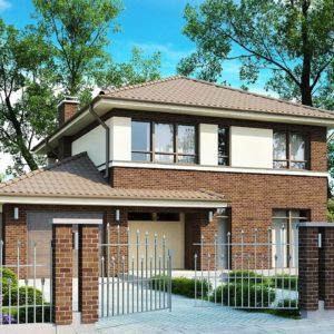 Фото 30 - Zx24 - Элегантный двухэтажный дом с боковым гаражом и кабинетом на первом этаже.