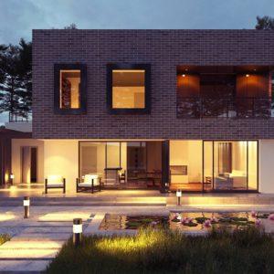 Фото 14 - Zx255 - Проект двухэтажного дома с современным фасадом и удобным интерьером.