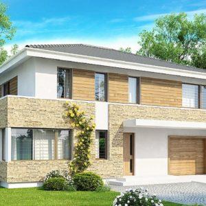 Фото 20 - Zx29 S - Двухэтажный современный дом под сейсмику.