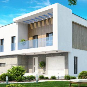 Фото 22 - Zx39 - Просторный дом современного дизайна с гаражом и кабинетом на первом этаже.
