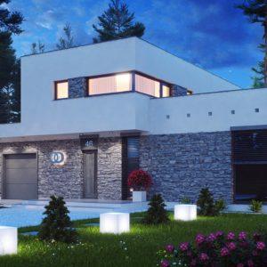 Фото 27 - Zx46 - Koмфортабельный особняк в стиле модерн элегантного дизайна.