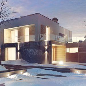 Фото 27 - Zx64 - Комфортный современный дом с дополнительным помещением для коммерческого использования.