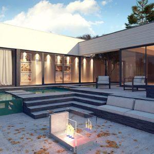 Проекты домов с гаражом на 3 и более автомобилей