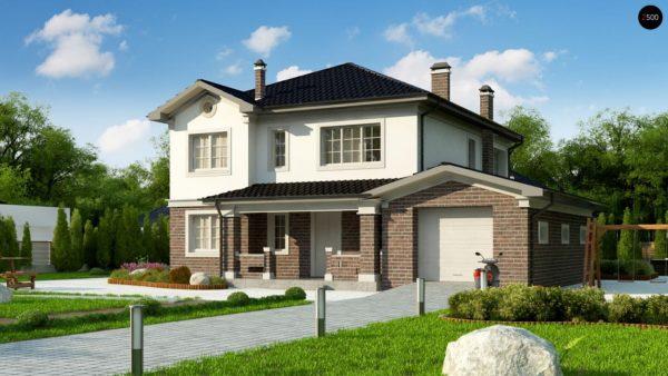 Фото 1 - Zz2 L - Элегантный двухэтажный дом с гаражом, с 5 спальнями.