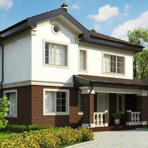Фото 12 - Zz2 S - Проект двухэтажного дома, адаптированный для строительства в сейсмоопасных районах.