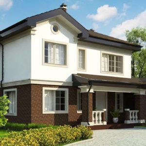Фото 15 - Zz2 - Просторный проект двухэтажного дома с удобной планировкой.