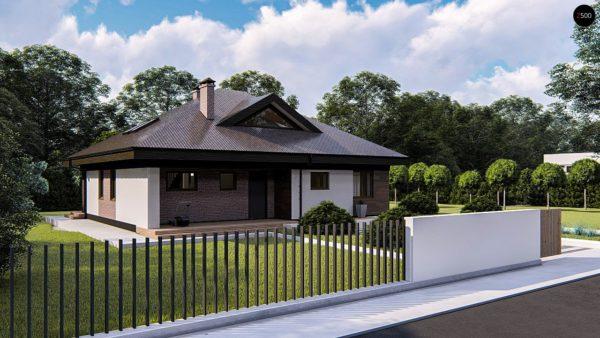 Фото 1 - Zz230 - Комфортный одноэтажный дом с мансардой.