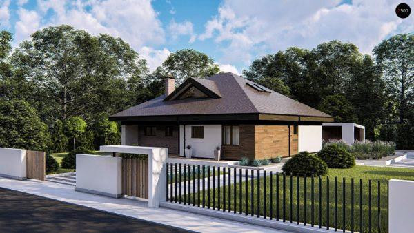 Фото 2 - Zz230 - Комфортный одноэтажный дом с мансардой.