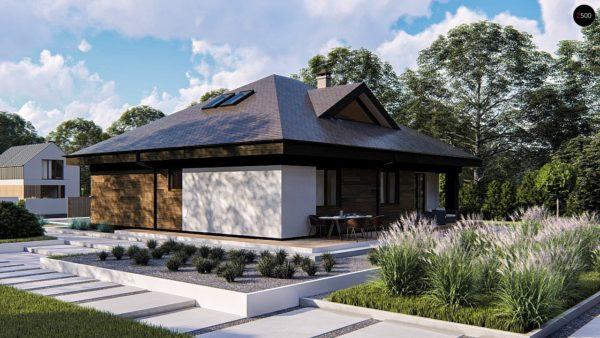 Фото 3 - Zz230 - Комфортный одноэтажный дом с мансардой.