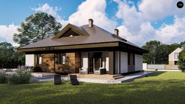 Фото 4 - Zz230 - Комфортный одноэтажный дом с мансардой.