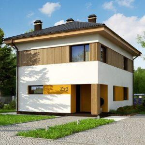 Фото 10 - Zz3 - Компактный проект двухэтажного дома.
