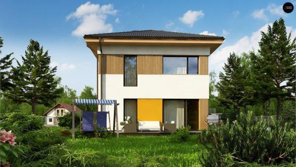 Фото 4 - Zz3 - Компактный проект двухэтажного дома.